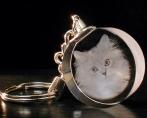 Кот в брелке