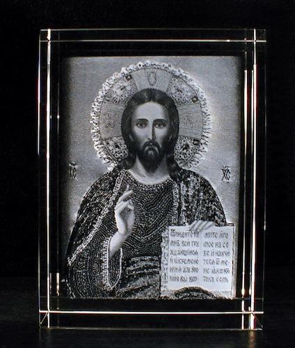 Иисус на иконе