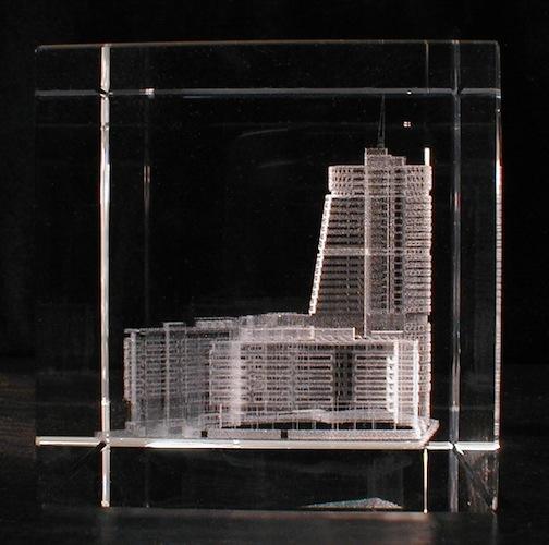 Здание в стекле