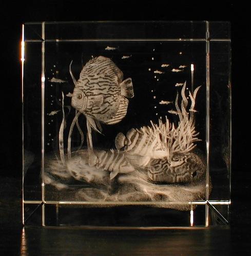 Аквариум в стекле