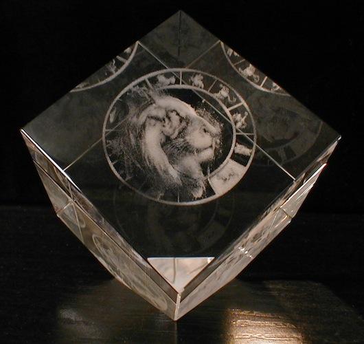 Зодиак Лев в кубе