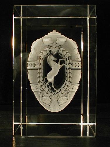 Герб в стекле
