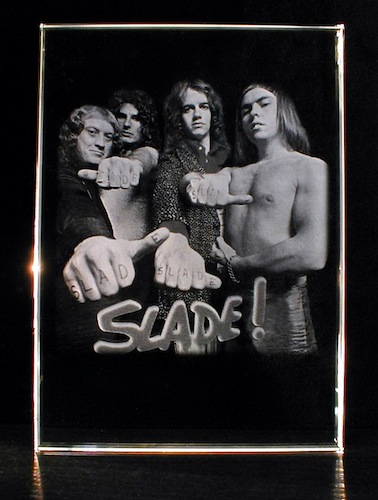 Группа Слейд в стекле