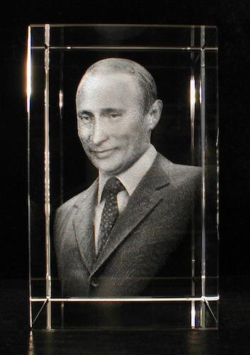 ВВ Путин в стекле