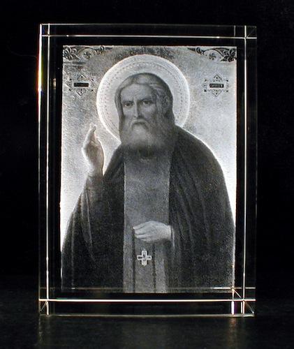 Икона в стекле