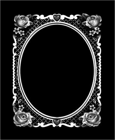 Красивая рамка в стекле