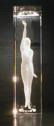 Девушка в стекле
